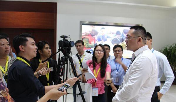 """亚洲媒体聚焦东营""""一带一路""""建设"""