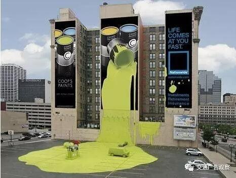 超有创意的国外户外广告,这想象力可以!