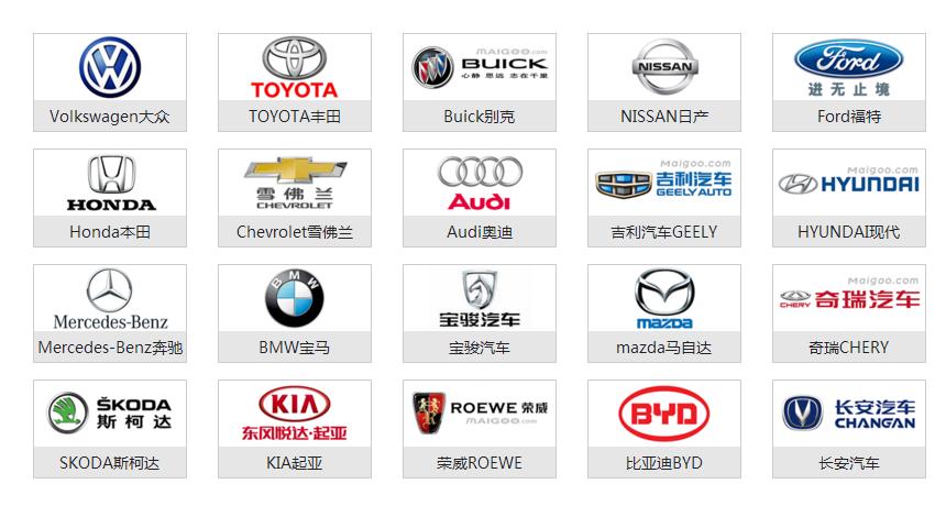 国产品牌车_中国国产汽车品牌有哪些 汽车品牌标志大全
