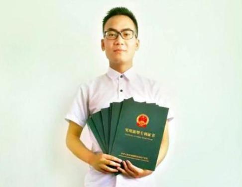 高二学生独获6项发明专利 获清华北大自主招生资格