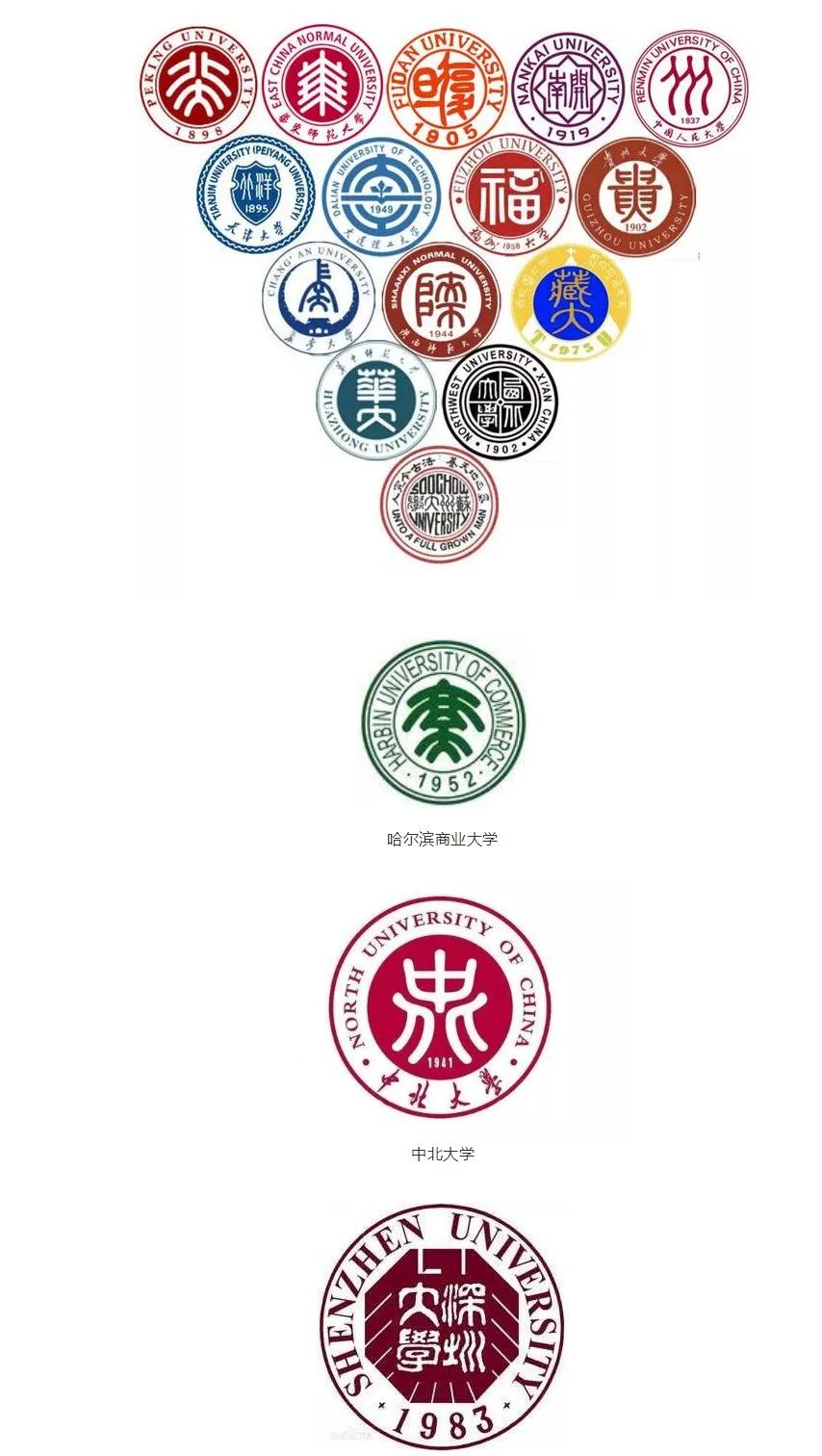 如此好看的大学LOGO,有你的母校吗?