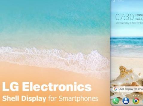 LG Shell Display商标曝光 新旗舰智能机或有神秘加成
