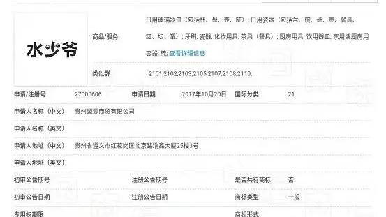 """含有""""少爷""""的词能被注册成商标吗?附北京高院判决书"""