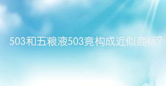 503和五粮液503竟构成近似aoa体育平台地址?