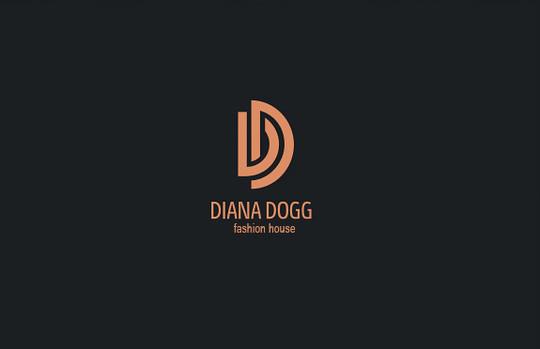 最好看的60款首字母缩写logo商标设计图片