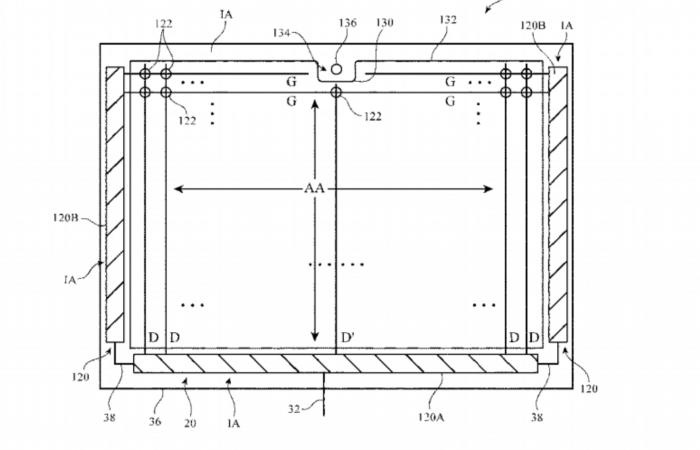 苹果新专利展示了带有横向刘海的iPad