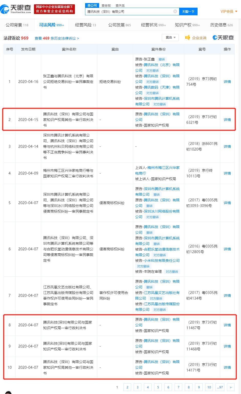 """""""微保""""商标申请被驳回 腾讯再起诉国家知识产权局"""