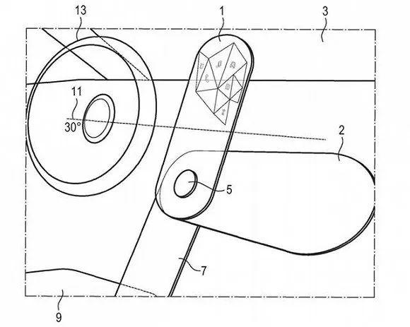 宝马旋转OLED屏专利申请获审批