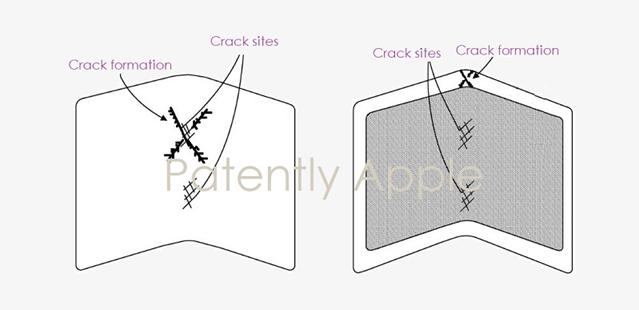 或将防止可折叠屏幕开裂?苹果新专利曝光