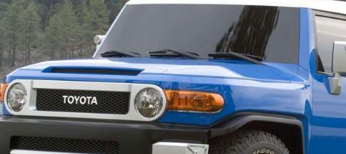 丰田FT4X商标申请暗示了FJ Cruiser的继任者