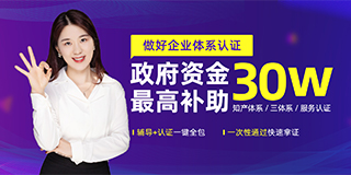 浙江省乐清市:专利申请资助3万元,知识产权贯标奖励2万元