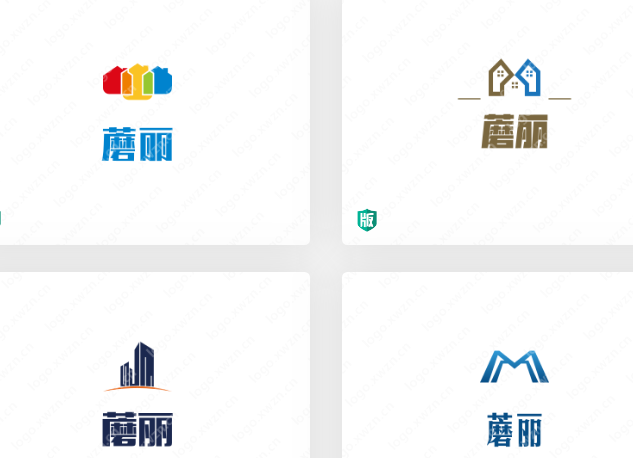 房地产标志设计:蘑丽logo设计赏析
