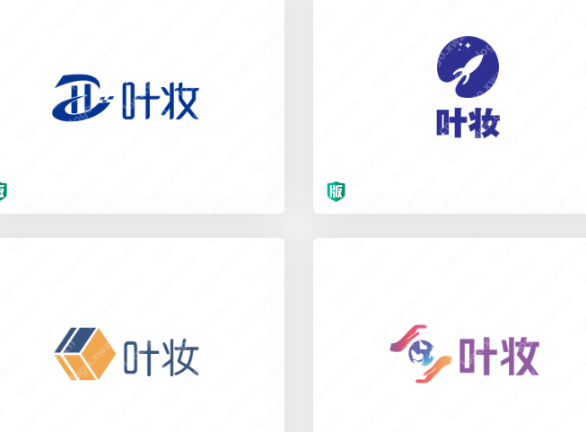 【叶妆】logo作品展示,标志logo设计的重要性有哪些?