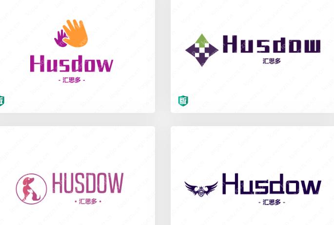 """洋气时髦有国际范的 """"Husdow""""——汇思多,窗户行业的logo作品"""