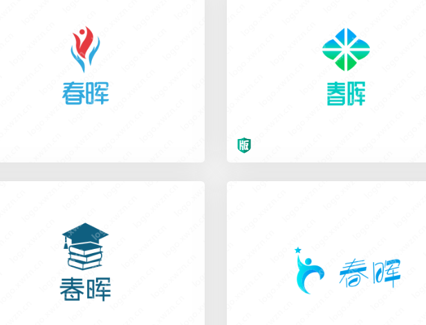 为教育机构设计一个logo——春晖