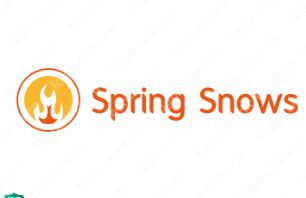 """英文名""""Spring Snows""""logo设计作品合集"""