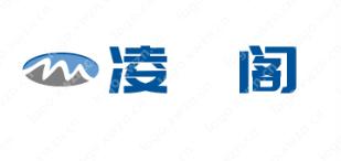 起名【凌莎阁】的logo设计案例赏析,很有意境美