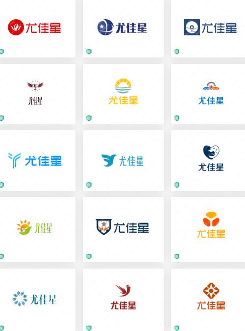营销策划行业logo设计案例:尤佳星