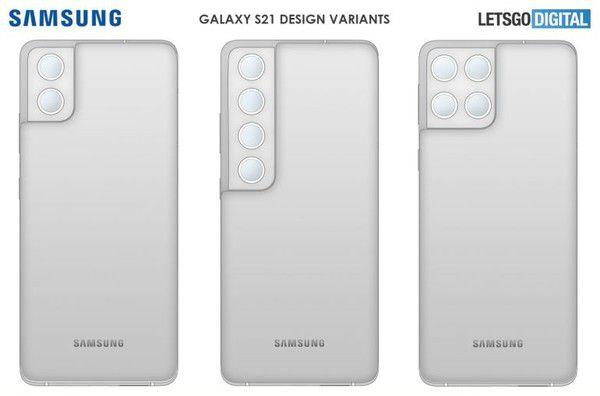 2021年7月14日三星S22手机摄像头类似S21?新手机外观专利公开