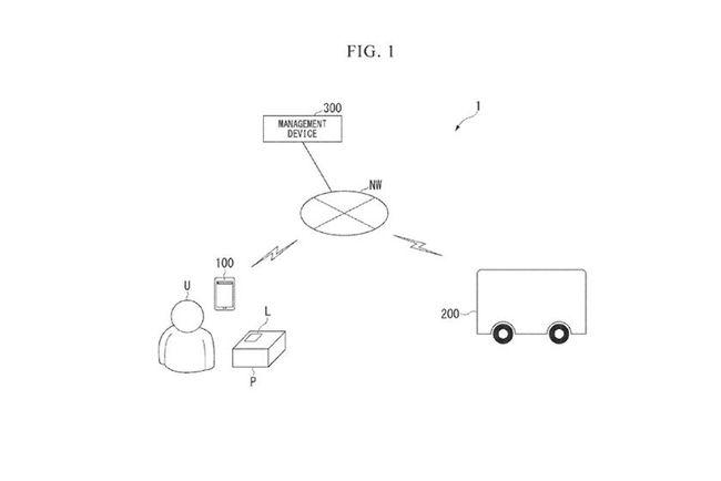 2021年10月13日本田申请自动驾驶送货车专利 可递送包裹
